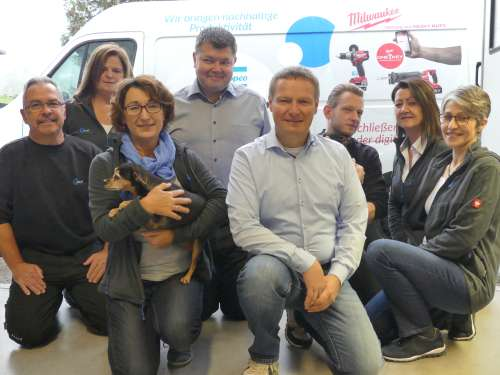 Gruppenfoto der Firma Fassl